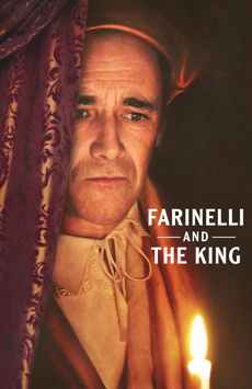 Farinelli and the King, Belasco Theatre, NYC Show Poster
