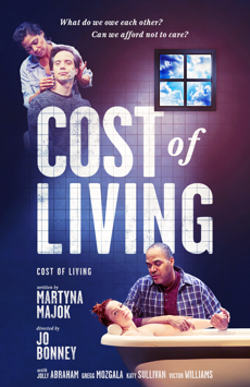 Cost of Living, Manhattan Theatre Club, NYC Show Poster