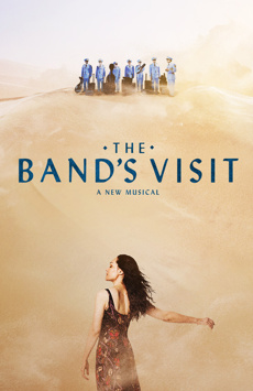 The Band's Visit, Ethel Barrymore Theatre, NYC Show Poster