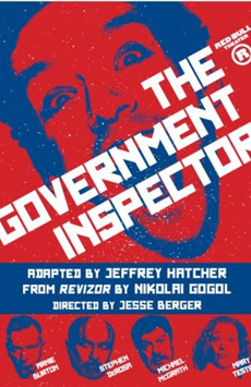 The Government Inspector, New World Stages - Stage Four, NYC Show Poster