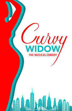 Curvy Widow, Westside Theatre , NYC Show Poster
