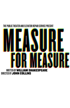 Measure for Measure, Joseph Papp Public Theater/LuEsther Hall, NYC Show Poster