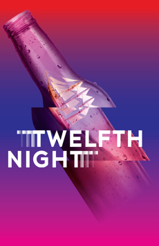 Twelfth Night, Classic Stage Company, NYC Show Poster