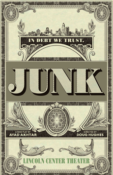 Junk, Vivian Beaumont Theater, NYC Show Poster