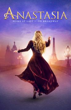 Anastasia, Broadhurst Theatre, NYC Show Poster