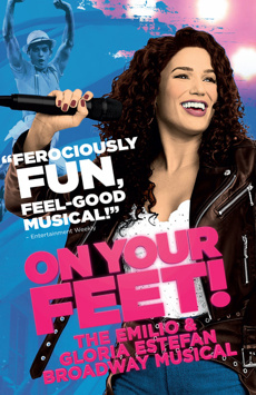On Your Feet!,, NYC Show Poster