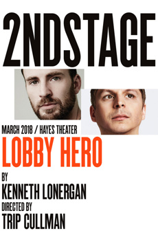 Lobby Hero, Helen Hayes Theatre, NYC Show Poster