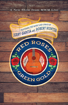 Red Roses, Green Gold, Minetta Lane Theatre, NYC Show Poster