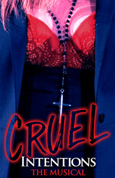 Cruel Intentions: The Musical, Le Poisson Rouge, NYC Show Poster