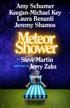 Image result for meteor shower broadway logo