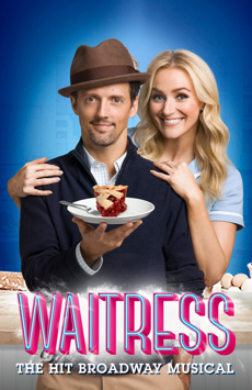 Waitress, Brooks Atkinson Theatre, NYC Show Poster