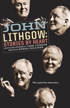 John Lithgow: Stories By Heart, American Airlines Theatre, NYC Show Poster