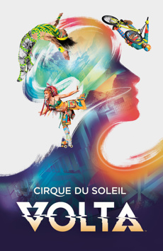 VOLTA by Cirque du Soleil, Meadowlands, Under the Big Top, Meadowlands Racetrack, NYC Show Poster