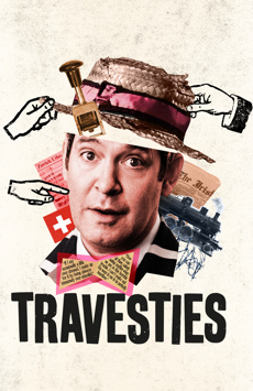 Travesties, American Airlines Theatre, NYC Show Poster