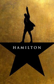 Hamilton,, NYC Show Poster