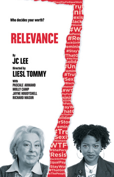 Relevance, Lucille Lortel Theatre, NYC Show Poster