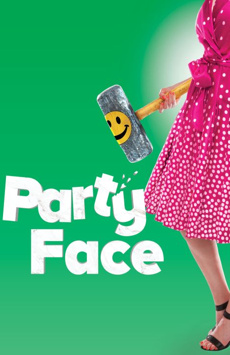 Party Face, City Center Stage II, NYC Show Poster