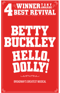 Hello, Dolly!,, NYC Show Poster