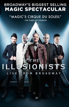 The Illusionists - Live From Broadway,, NYC Show Poster