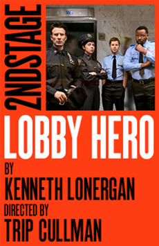Lobby Hero, The Hayes Theater, NYC Show Poster