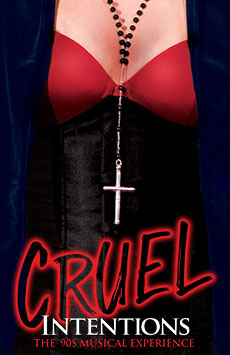 Cruel Intentions: The '90s Musical Experience, Le Poisson Rouge, NYC Show Poster