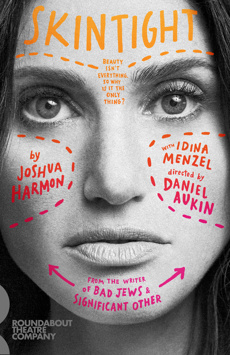 Skintight, Laura Pels Theatre, NYC Show Poster