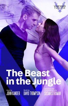 The Beast in the Jungle, Vineyard Theatre, NYC Show Poster
