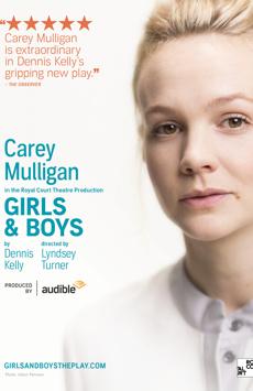 Girls & Boys, Minetta Lane Theatre, NYC Show Poster