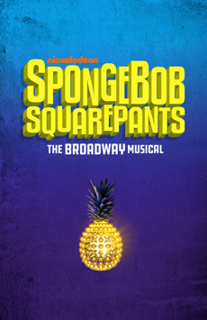 SpongeBob SquarePants, Palace Theatre, NYC Show Poster