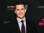 Max Carver steps out to support his twin brother Charlie Carver's Broadway debut in The Boys in the Band.