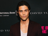 Model Miles McMillian supports his boyfriend and The Boys in the Band star Zachary Quinto.