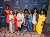 The Ensemble Award went to Nabiyah Be, MaameYaa Boafo, Paige Gilbert, Zainab Jah, Nike Kadri, Abena Mensah-Bonsu, Mirirai Sithole and Myra Lucretia Taylor of School Girls; or, The African Mean Girls Play.