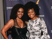 Saycon Sengbloh and Summer Drama Desk nominee LaChanze get together for a fierce photo.