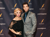 Theater couple (and future Pretty Woman co-stars) Orfeh and Andy Karl step out.
