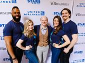 "Frozen understudy Jeremy Davis performed ""In Summer"" with the ensemble."