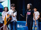 """School of Rock's Gabrielle Greene belts out """"If Only You Would Listen"""" with her castmates."""