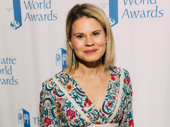 Celia Keenan-Bolger, who received the Theatre World Award for her debut as Olive Ostrovsky in the 25th Annual Putnam County Spelling Bee in 2005, presented at this year's ceremony.