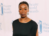 Noma Dumezweni is honored for her performance in Harry Potter and the Cursed Child.