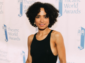 Lauren Ridloff was honored for her touching performance in Children of a Lesser God.