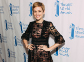 Denise Gough garnered the Theatre World Award for her intense performance in Angels in America.