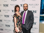 Carousel's Alexander Gemignani attends with his wife, Erin Ortman.