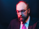 Carousel's Alexander Gemignani shot by Emilio Madrid-Kuser at the show's opening night party.