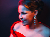 Carousel's Lindsay Mendez shot by Emilio Madrid-Kuser at the show's opening night party.