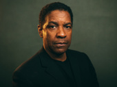 The Iceman Cometh star Denzel Washington photographed by Caitlin McNaney at the show's press day.