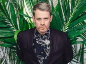 Once On This Island director Michael Arden photographed by Emilio Madrid-Kuser at the  Escape to Margaritaville opening night party.