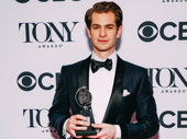 Angels in America star Andrew Garfield wins the Tony for Best Leading Actor in a Play.