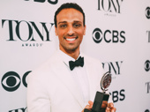 Ari'el Stachel took home the Tony for Best Featured Actor in a Musical for his performance in The Band's Visit.