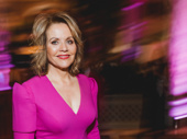 Carousel Tony nominee Renée Fleming is a vision in pink.