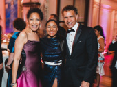 Summer star Ariana DeBose is supported by Brian Stokes Mitchell and his wife, Alyson Tucker.