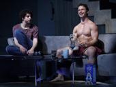Eli Gelb as Benjamin and Will Brittain as Trey in Skintight.
